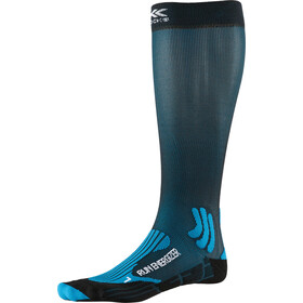 X-Socks Run Energizer Skarpetki, teal blue/opal black